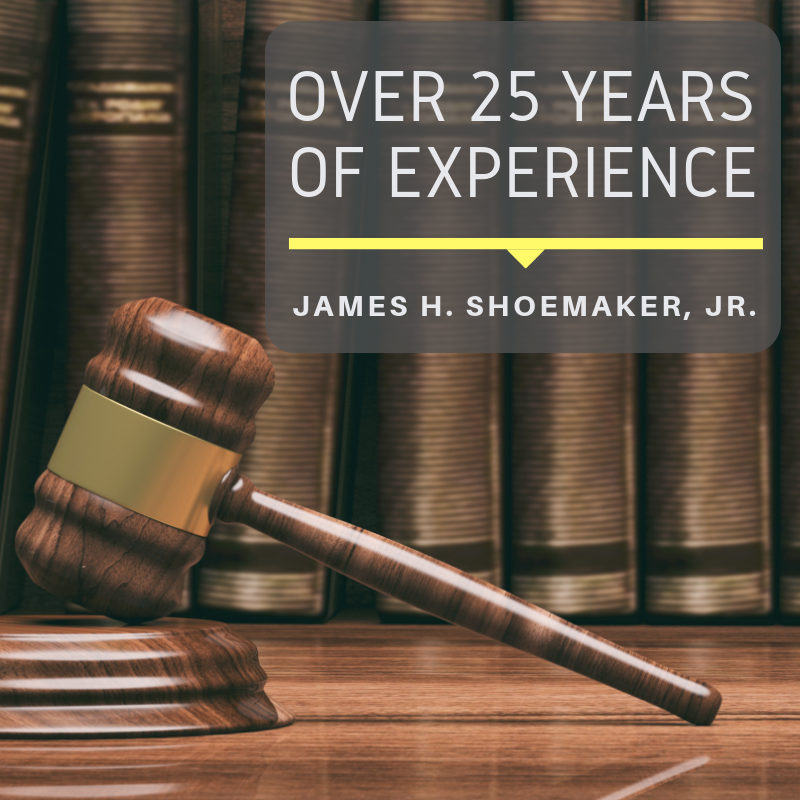 Experienced attorney James H. Shoemaker