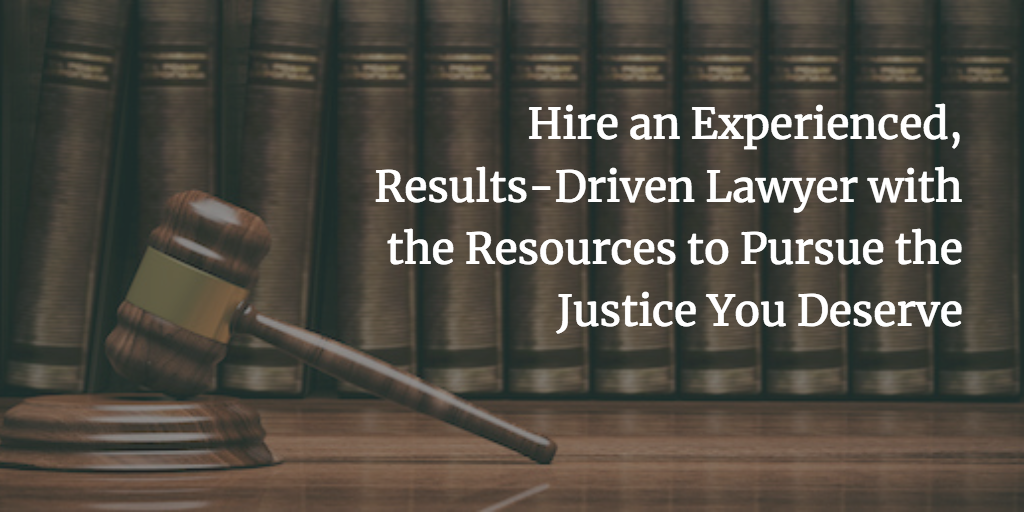 Experienced Results-Driven Lawyer